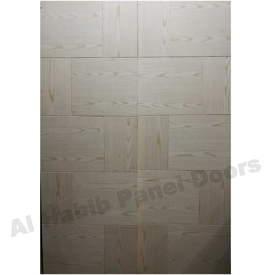 Ash Ply Pasting Double Door