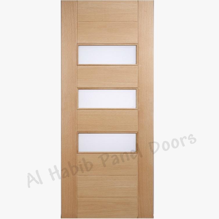 Ply Panel Doors : Ply pasting glass door doors al habib panel