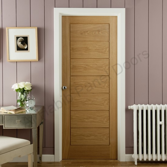 Ash Ply Pasting Stripes Door