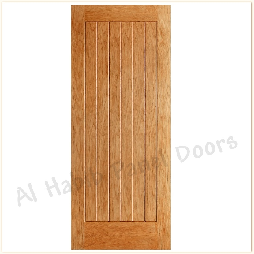 Ash Ply Pasting Vertical Stripes Door