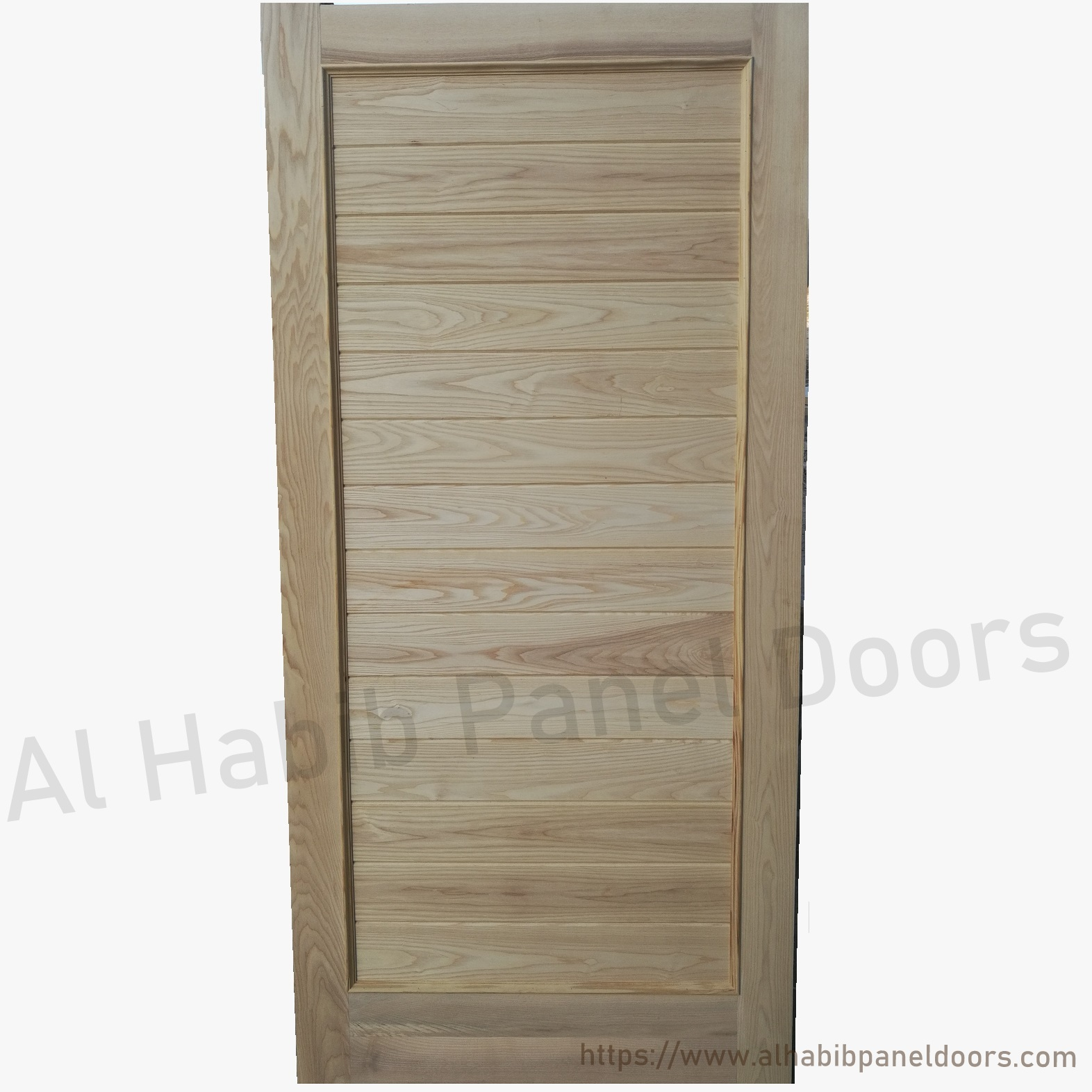 Ash wood door design hpd423 solid wood doors al habib for Wooden door ideas