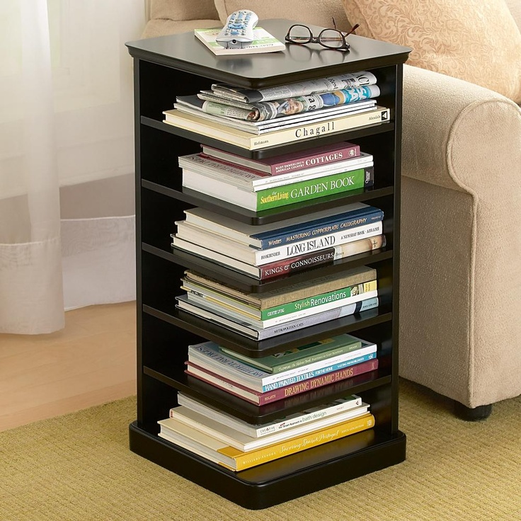 bookshelf table design