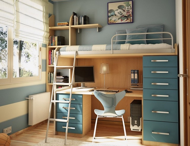 Bunk Bed With Study Table Part 2