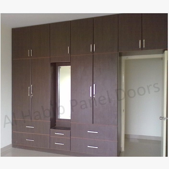 fixed wardrobe for bedroom hpd520 - fitted wardrobes