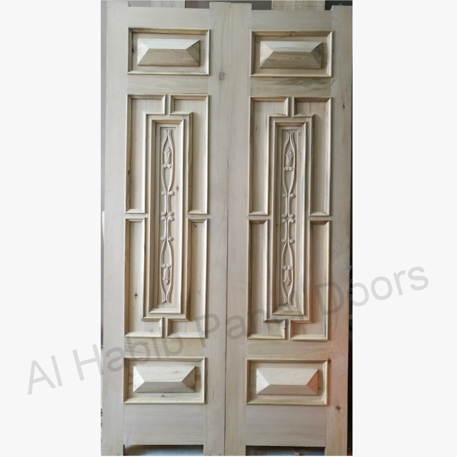 Dayyar Wooden Main Door With Hand Carving