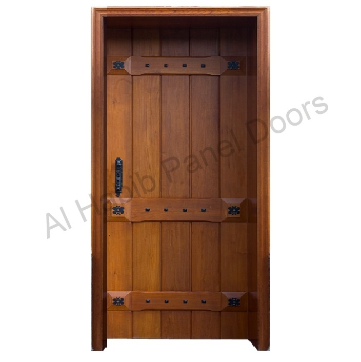 Solid Diyar Wood Door Hpd421 Solid Wood Doors Al Habib