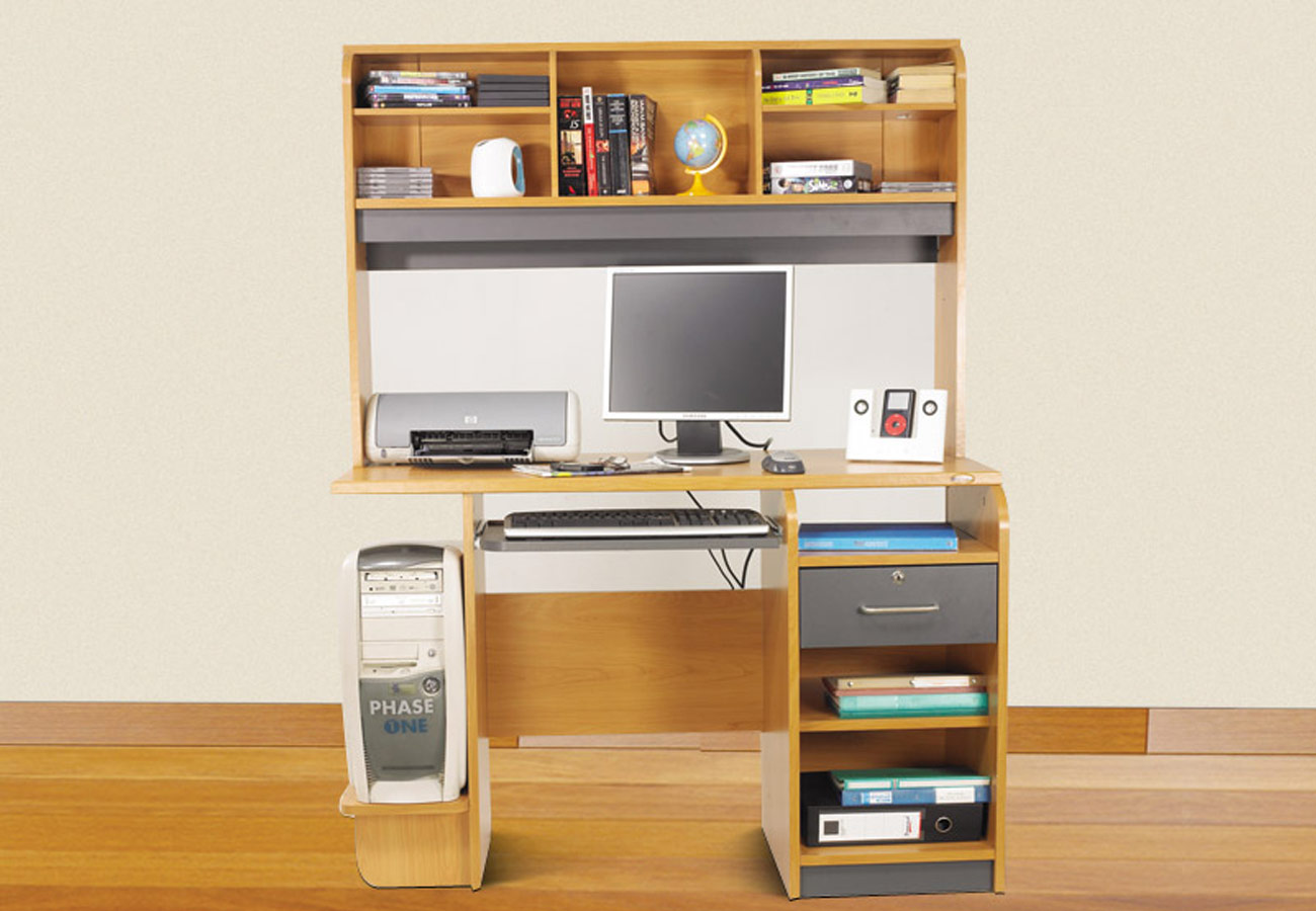 Drawer Computer Table With Top Unit Hpd292 Computer  : drawer computer table with top unit hpd292 from www.alhabibpaneldoors.com size 1300 x 900 jpeg 150kB