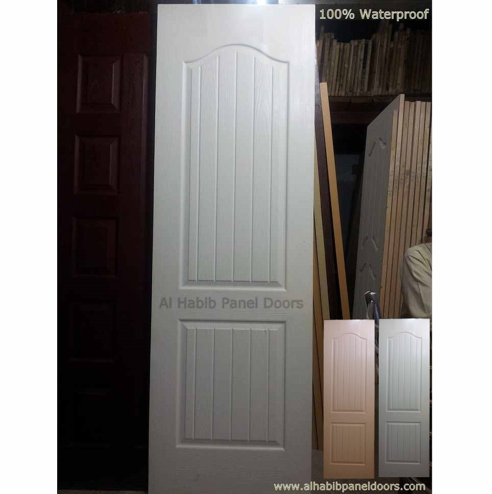 Fiber bathroom door hpd409 fiber panel doors al habib for Bathroom entrance doors