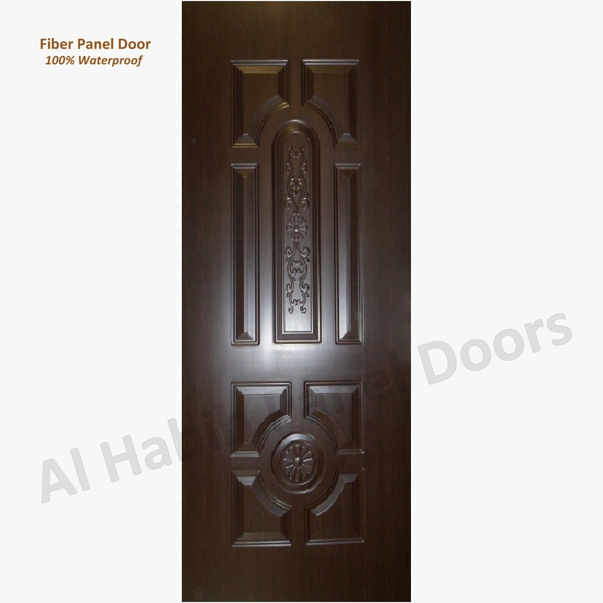 Fiber Panel Door Choco Brown