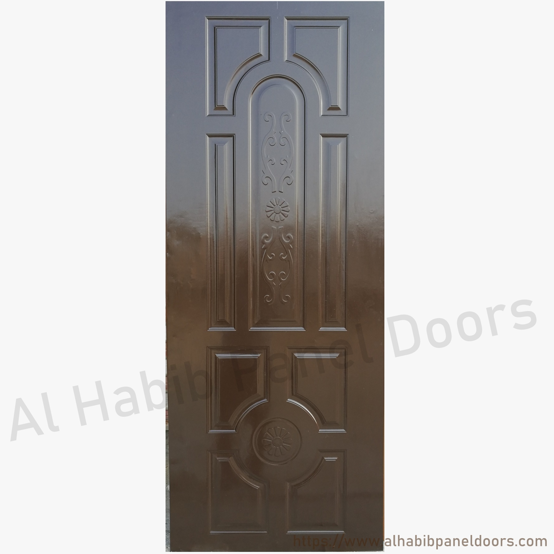 Fiber Panel Door Flower Design Hpd471 Fiber Panel Doors