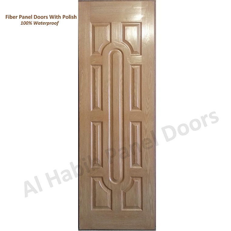 Fiber Panel Door With Polish Hpd484 Fiber Panel Doors Al Habib Panel Doors