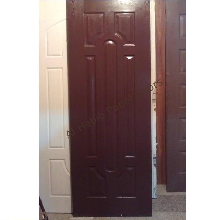 Fiberglass Door 7 Panel Chocolate color
