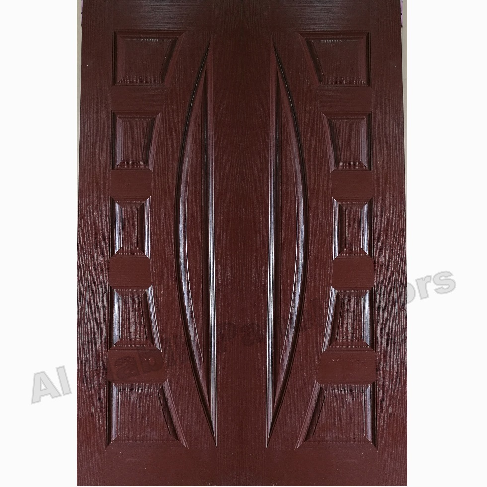 Fiberglass Double Door Choco Color