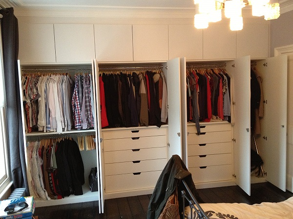 Fitted Wardrobes with Drawers