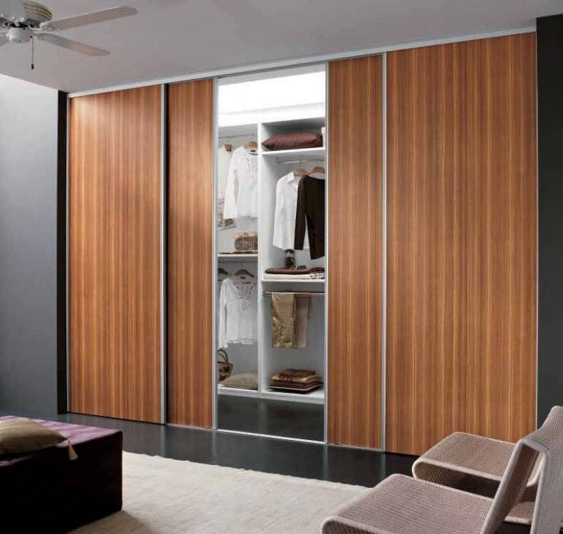 Fixed Wardrobe With Sliding Doors Hpd436 Door