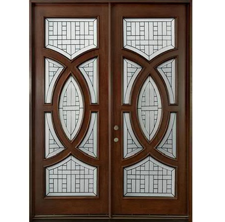 Glass main door hpd364 glass panel doors al habib for Office main door design