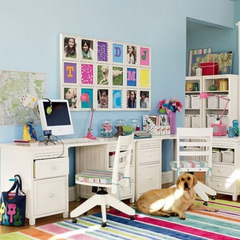 Toddler Study Room: Gorgeous Style Study Table For Kids Hpd265
