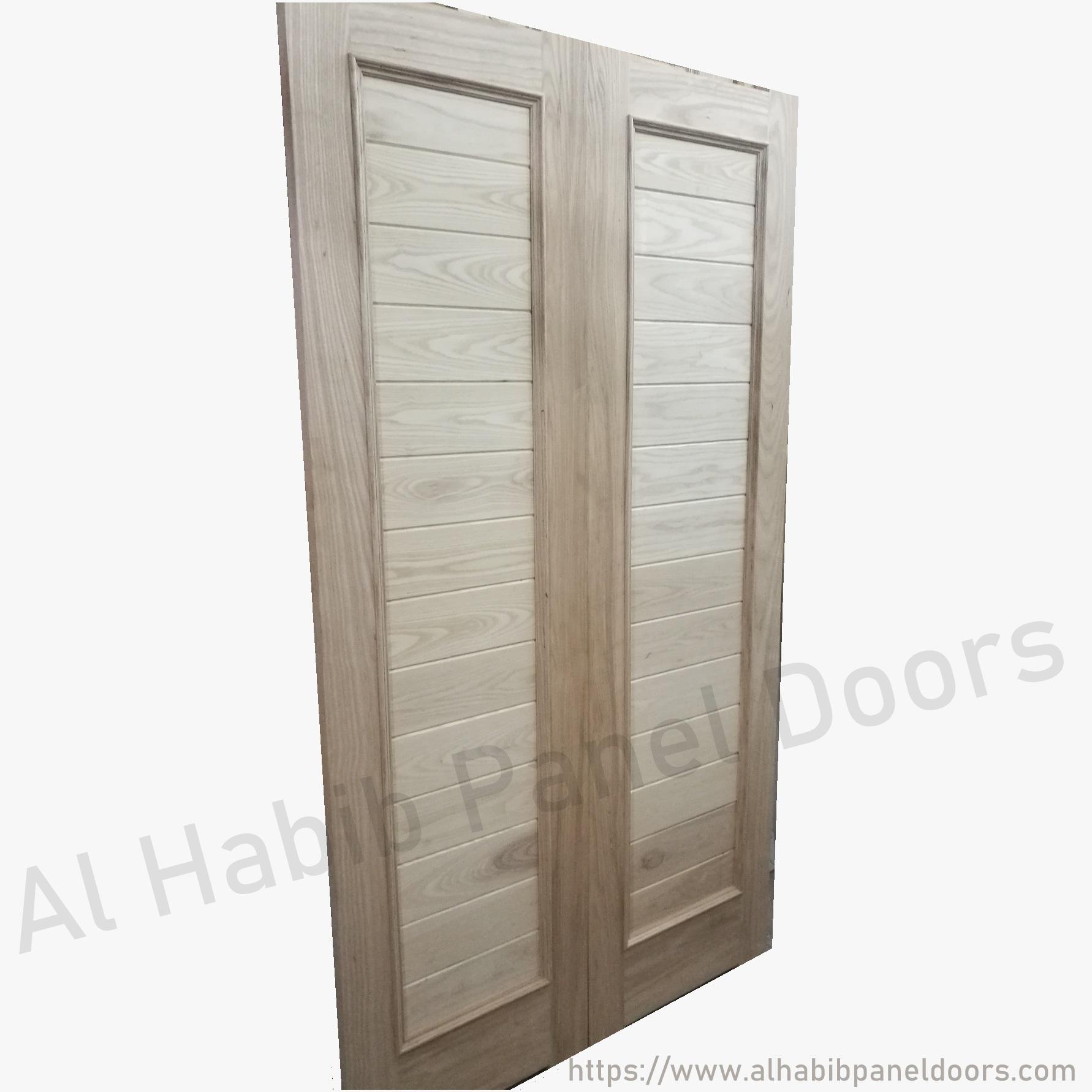 main double door solid wood hpd402 main doors al habib