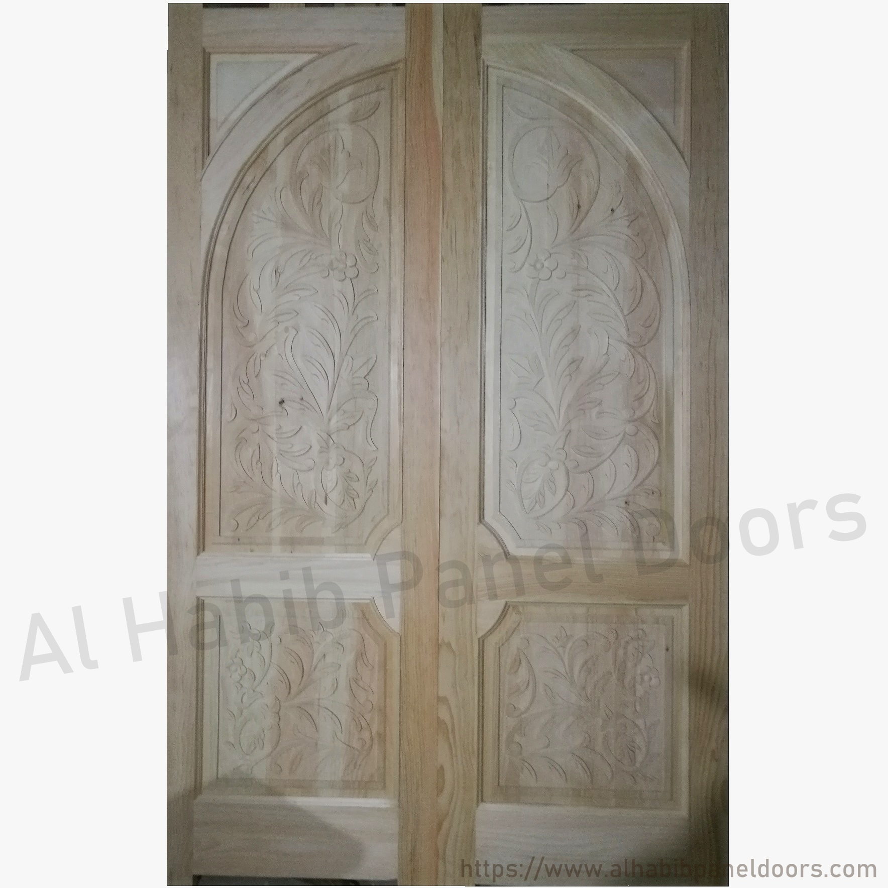 Kail Wood Main Double Carving Door
