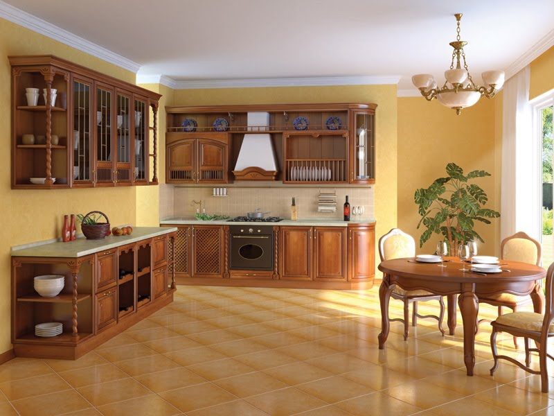 Kitchen Cabinets Hpd354 - Kitchen Cabinets - Al Habib Panel Doors