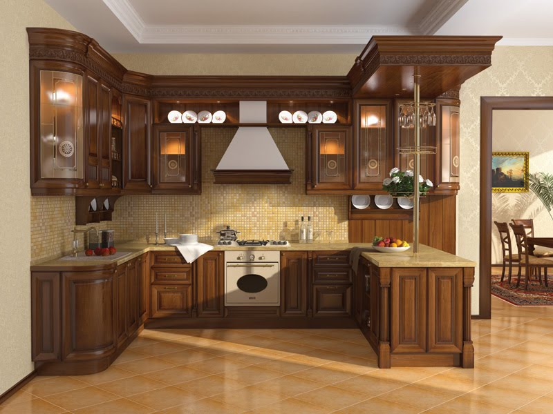 Kitchen cabinets doors design hpd406 kitchen cabinets al habib panel doors Wood kitchen design gallery