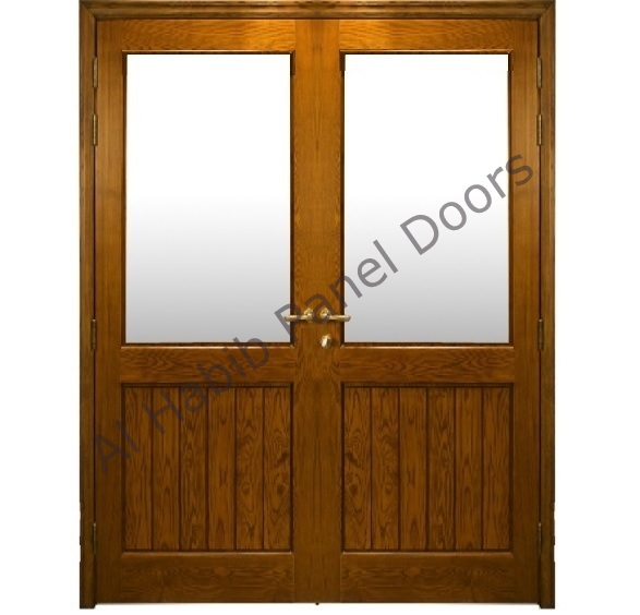 Living room double door hpd401 glass panel doors al for Living room doors