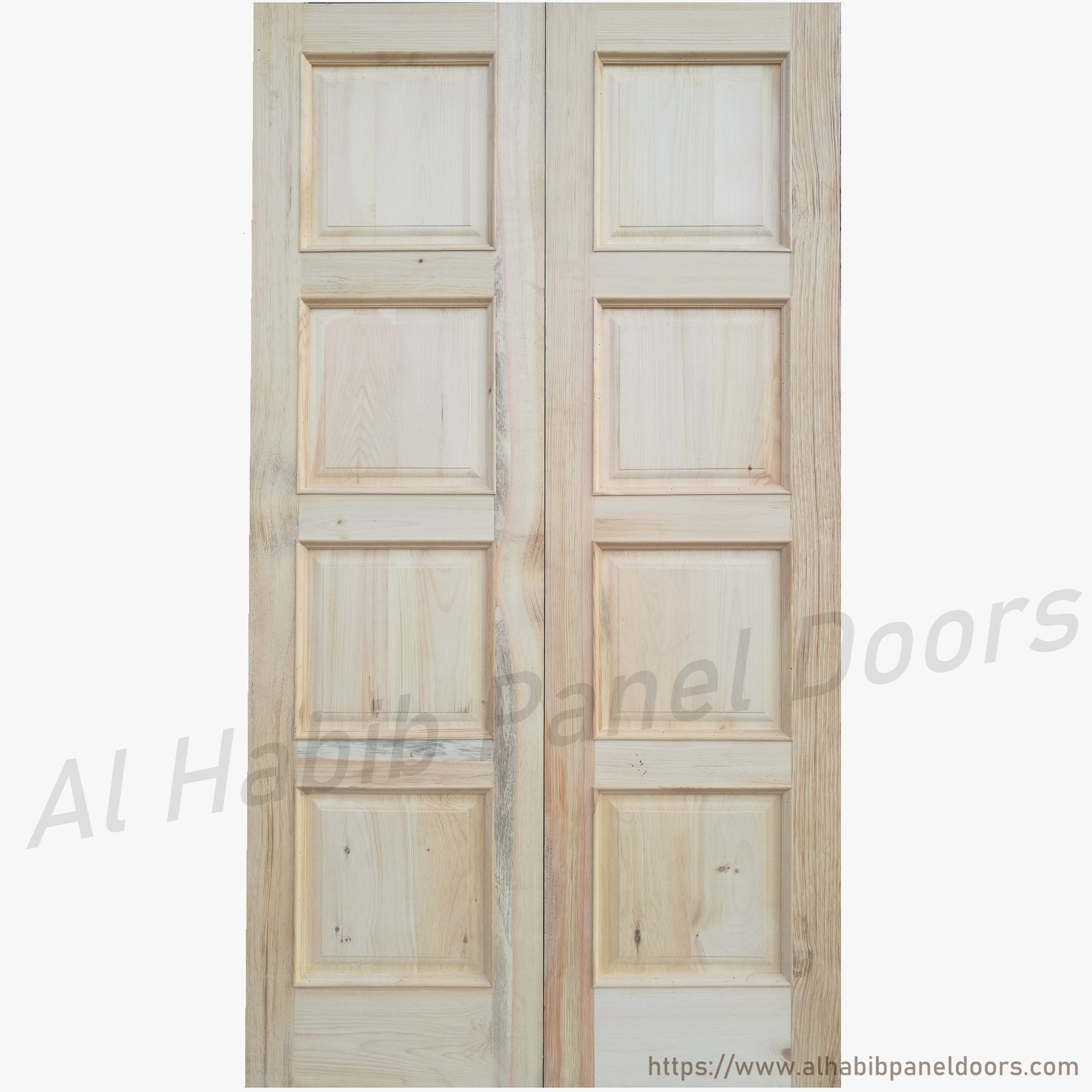 Main double door hpd327 main doors al habib panel doors for Main entrance doors design for home
