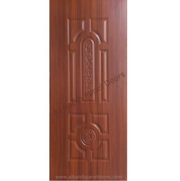 Melamine skin door hpd392 panel skin doors al habib for Door design in pakistan