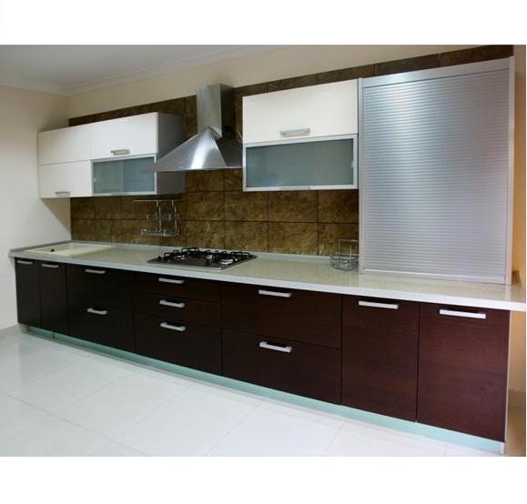 Modern Kitchen Design Hpd454 - Kitchen Design - Al Habib Panel Doors