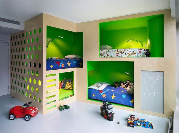 New 4 Beds Kids Room