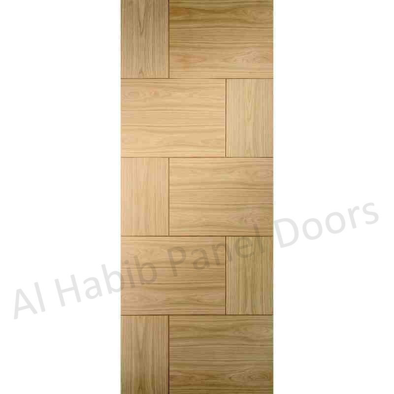 New Design Ash Ply Pasting Door
