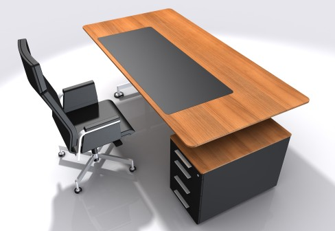 Office table hpd371 office furniture al habib panel doors for Simple office furniture design
