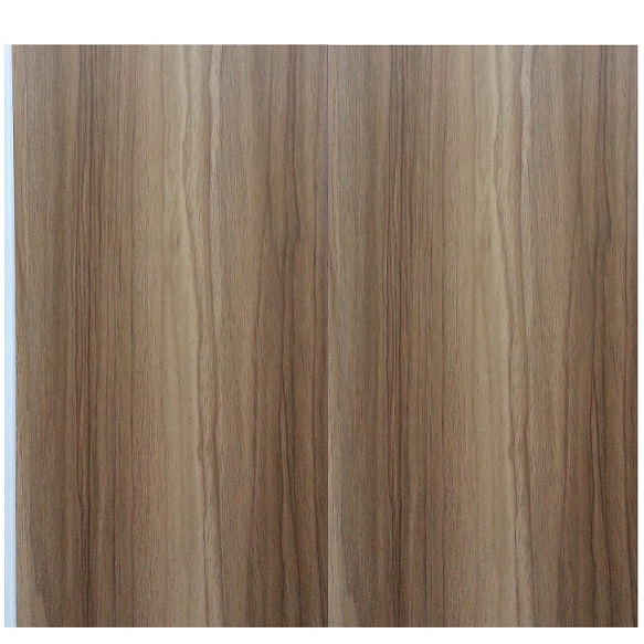 Plain Wood Texture PVC Wall Panelling