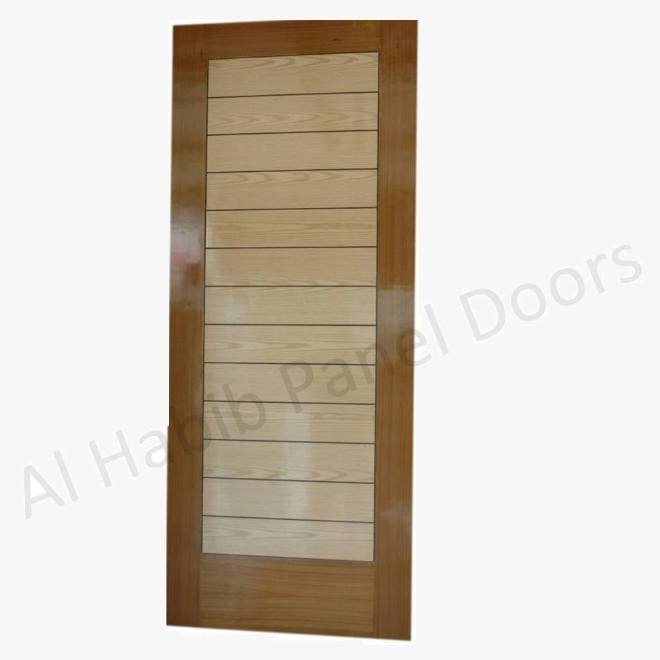 Ply Pasting Stripes Door
