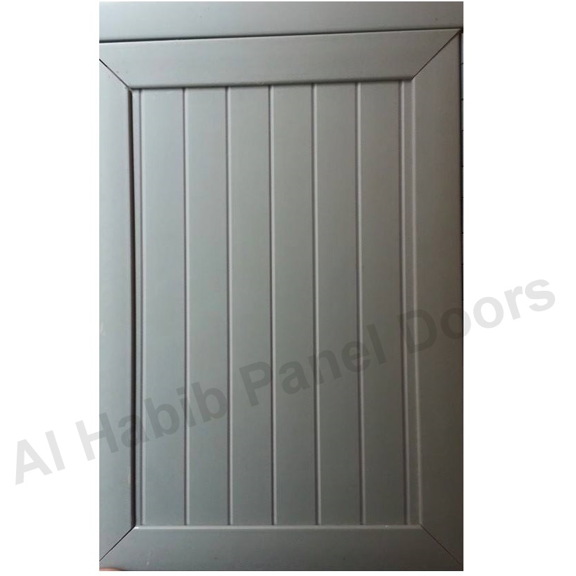 PVC Gray Color Door With Frame
