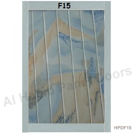 PVC Laminated Sky Blue Color F15
