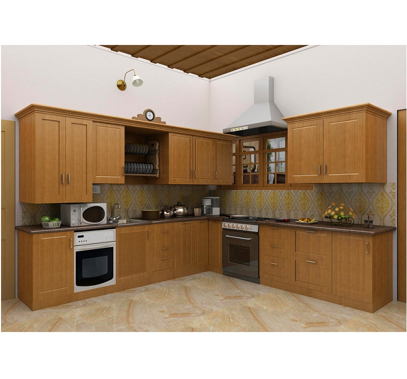 Simple Kitchen Design Hpd453 - Kitchen Design - Al Habib Panel Doors