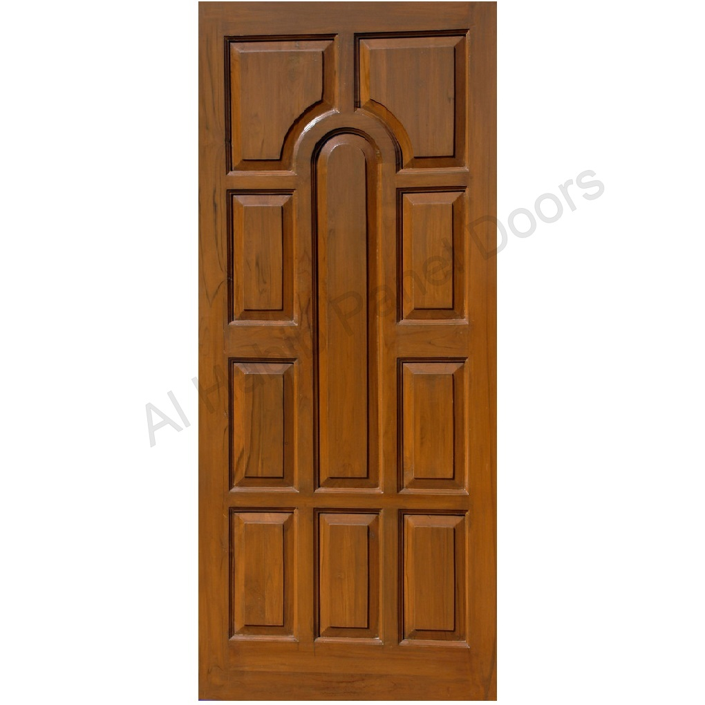 Solid diyar wood door hpd421 solid wood doors al habib for Solid entrance doors