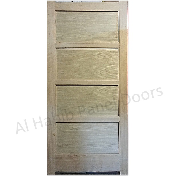 Solid Frame With Ash Veneer Door