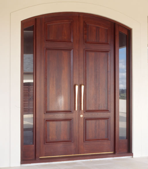 Pakistani kail solid wood double door hpd410 main doors for Main entrance double door design