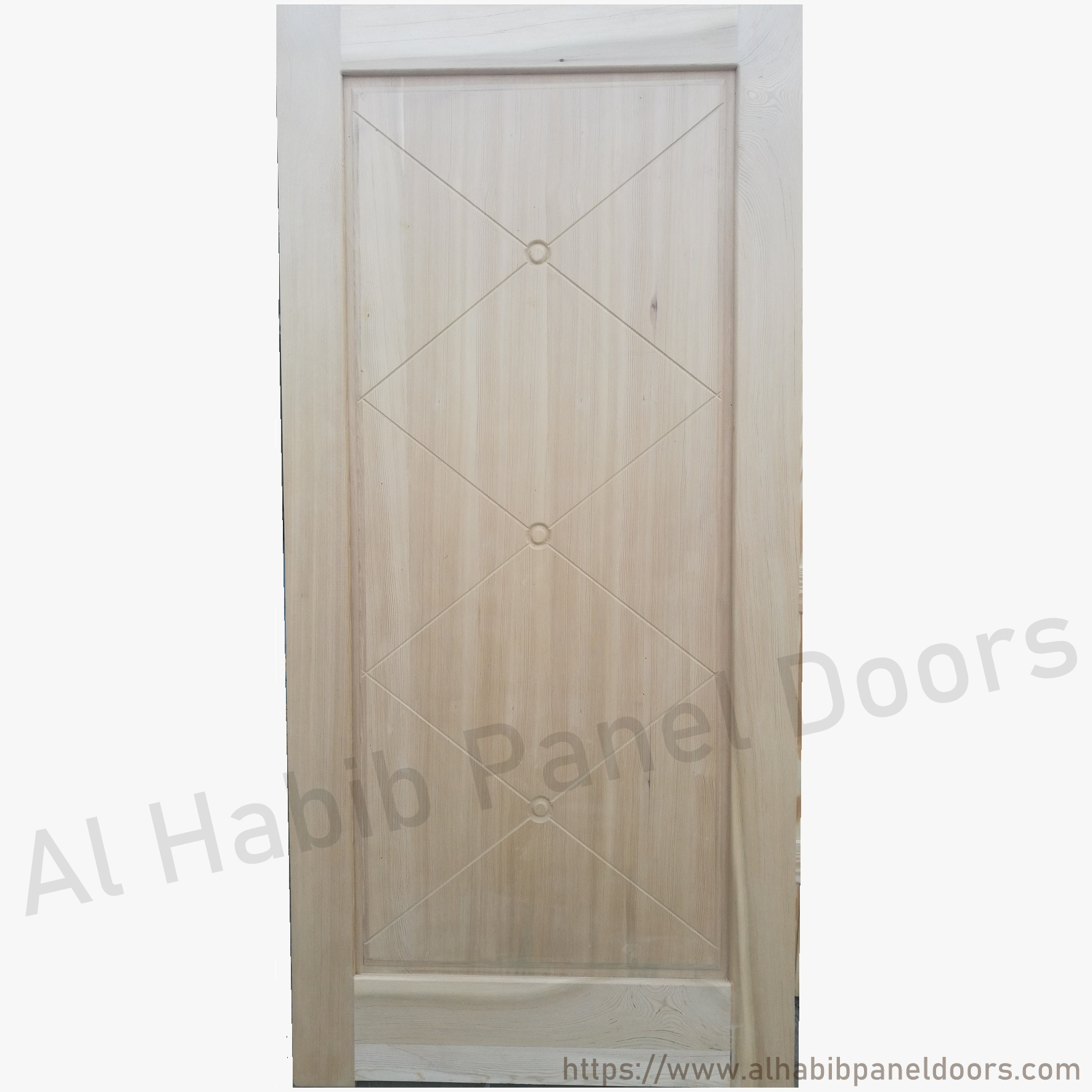 Rustic Solid Wood Door Hpd103 Solid Wood Doors Al