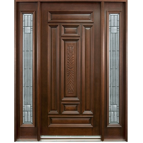 Single solid wood door hpd102 solid wood doors al for Door design in pakistan