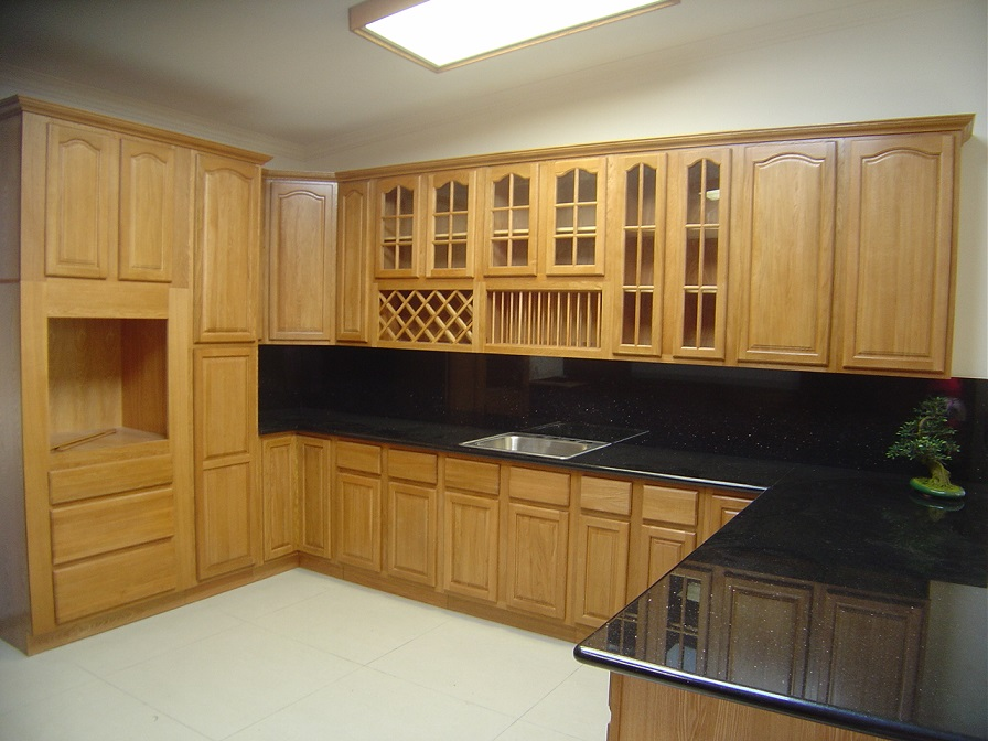 Charmant Solid Wooden Kitchen Sample