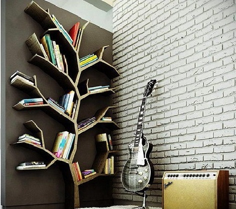 Tree Shaped Shelves