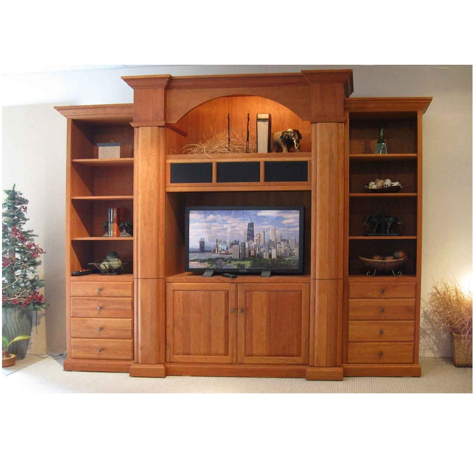 Wooden lcd tv cabinets hpd442 lcd cabinets al habib for Cupboard cabinet designs