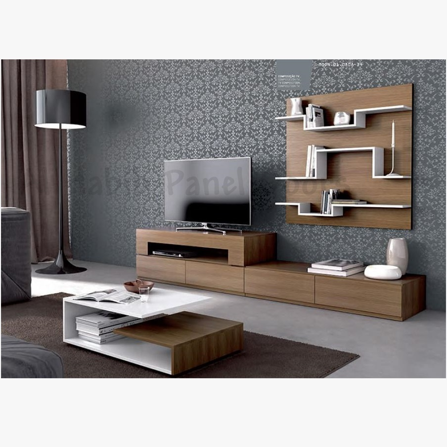 Tv Stand Designs On Wall : Lcd tv cabinet design hpd cabinets al habib