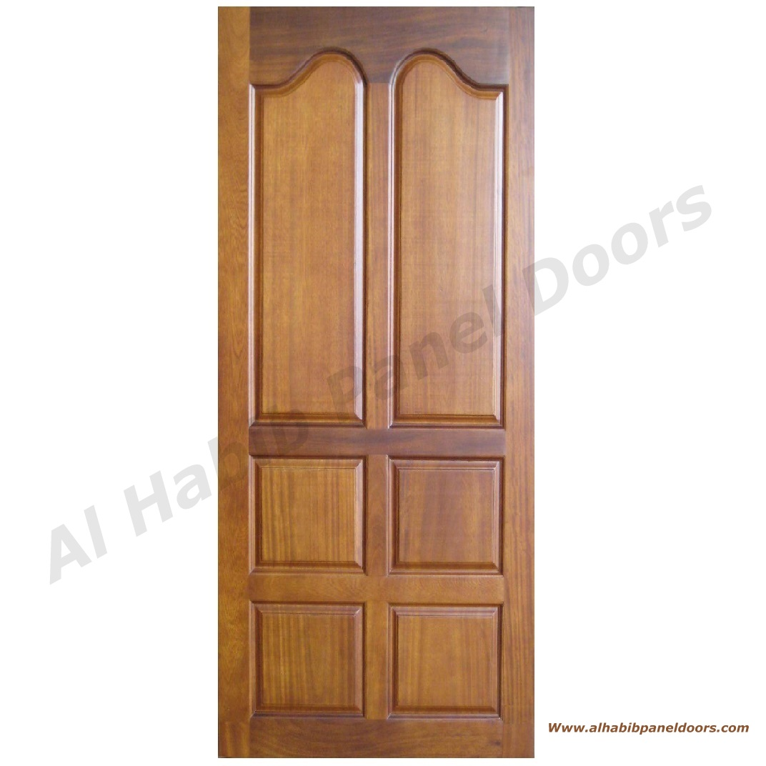 Wooden Door Hpd465 Solid Wood Doors Al Habib Panel Doors