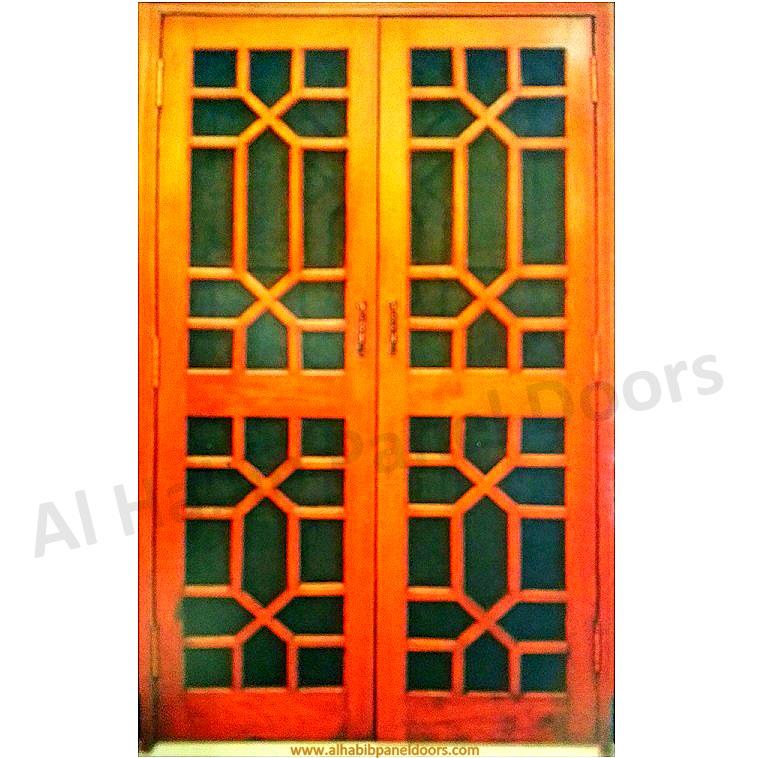 Diyar Wooden Wire Mesh Double Door Hpd511 Mesh Panel
