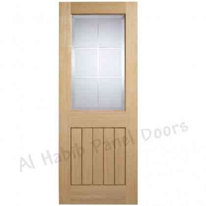 Ply Pasting Glass Door