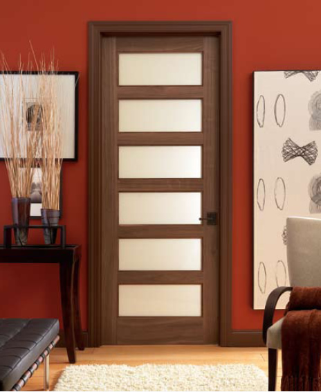 Doors al habib panel doors for Interior glass panel doors designs